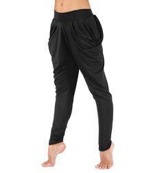 Draped Harem Pants - Pants & Leggings | DiscountDance.com