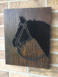 String Art - Black Beauty