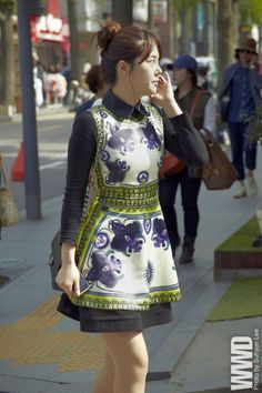 womensweardaily:    They Are Wearing: Seoul, South Korea