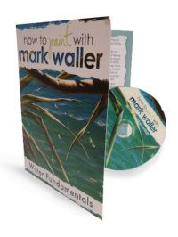 Mark Waller's Water Fundamentals downloadable DVD will having you diving right into painting water with a whole new eye!