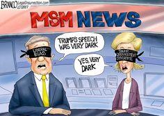 Cartoon: Trump Derangement Syndrome - http://americanlibertypac.com/2017/01/cartoon-trump-derangement-syndrome/ | #Cartoons, #DonaldTrump, #LiberalMedia | American Liberty PAC