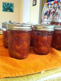 My famous Fig Jam!! Recipe can be found @ www.pickyourown.org/figjam.html