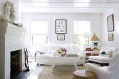 salas blancas vintage - Buscar con Google