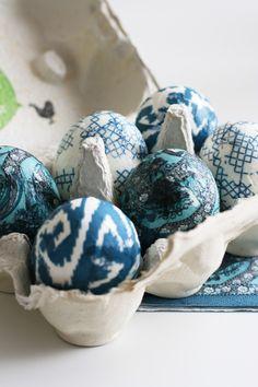 ikat eggs... omg...!