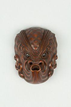 Netsuke of Mask | Japan | Edo (1615–1868) or Meiji period (1868–1912) | The Met