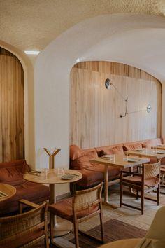 Bareclona, Spain • Travel Guide — Chez Núñez Commercial Design, Commercial Interiors, Barcelona Pavilion, Luxe Decor, Spain Travel Guide, Barcelona Travel, Bakery Design, Restaurant Interior Design, Beautiful Space