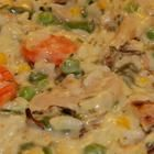 Easy and Comforting Chicken Rice Casserole