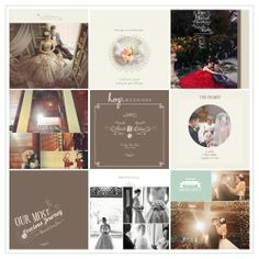Aswin & Ratna Wedding Photobook Design, photo by HOP, edit & design by Wenny Lee