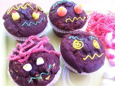 Muffins de Halloween