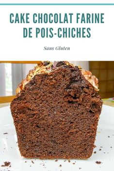 Healthy Cake, Healthy Desserts, Healthy Recipes, Desserts Sains, Cake Chocolat, The Breakfast Club, Gluten, Sweet Recipes, Banana Bread