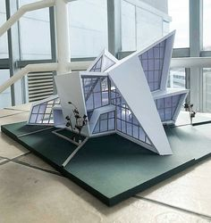 Modern Architecture Concept Architects - Bodenbelag Wohnzimmer with natural light with natural materials with nature building with nature concept with nature inspiration with nature spaces Maquette Architecture, Concept Models Architecture, Architecture Model Making, Architecture Sketchbook, Modern Architecture House, Futuristic Architecture, Facade Architecture, Sustainable Architecture, Architecture Diagrams