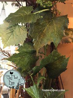 Grape leaf garlands