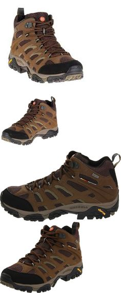 Mens 181392: Merrell Moab J87701 Mid Goretex Hiking Boot Size 10 Color Dark Earth Mens -> BUY IT NOW ONLY: $97.0 on eBay!