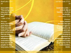 Faith is only as strong as that in which it trusts   +   La fe es tan fuerte como lo cual en que ella confía   +   http://www.biblegateway.com/passage/?search=Luke+17%3A11-19