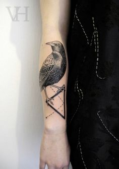 Another beautiful tattoo by Valentin Hirsch.