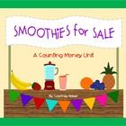 This unit was created for teaching students how identify money, count money and solve story problems involving money.  It has a fruit smoothie stan...