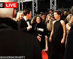 Benedict and Sophie on the red carpet at BAFTA's 2015 - awh!!! :)