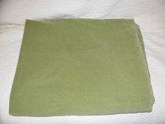 Pottery Barn Thyme Green Velvet King Duvet Cover PLUS 2 Standard Shams Vgc - Duvet Covers & Sets