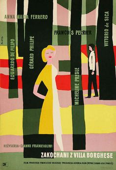 Posters / poster for Villa Borghese (Gianni Franciolini, Italy, 1953)