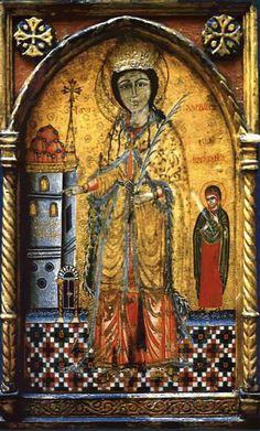 Feast of Saint Barbara - Bing images Sta Barbara, Saint Barbara, Russian Icons, Russian Art, Religious Icons, Religious Art, Byzantine Icons, Orthodox Christianity, Orthodox Icons
