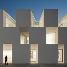 Extraordinary house for elderly people by Aires Mateus Arquitectos.