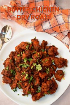 Butter Chicken Dry Roast is a simple and delicious recipe, here the chicken is marinated with bunch of spices and stuff for 1 or 2 hou. Kerala Chicken Recipes, Chicken Recipes Dry, Indian Food Recipes, Ethnic Recipes, Punjabi Recipes, Indonesian Recipes, Indian Appetizers, Chicken Appetizers, Lunch Recipes