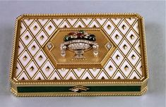 Cartier London Gold Box 1964 Peter Wilding Collection, Courtesy of British Museum.