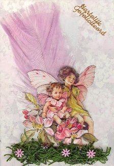 3d flower fairy