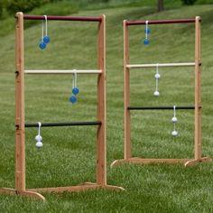 Ladder ball lawn game