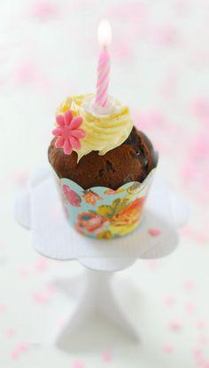 Cute Birthday Cupcake....