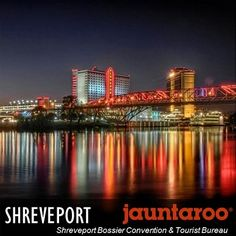 Shreveport's spunk is immediately evidenced by the casinos, as well as the festivals dedicated to everything from music to wine to beer to crawfish. Is this your perfect vacation match? Visit www.jauntaroo.com to find out and learn more. #jauntaroo, #travel