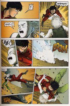 beatscomicsandlife:  Akira epic comics issue 33
