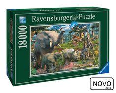 Puzzle At The Waterhole Ravensburger 18.000 peças