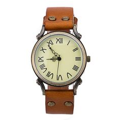 Vintage Casual Retro Style Watch from Femaleo. Shop more products from Femaleo on Wanelo.