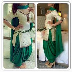 Punjabi Fashion, Indian Bridal Fashion, India Fashion, Bollywood Fashion, Women's Fashion, Indian Suits, Indian Attire, Indian Dresses, Indian Wear