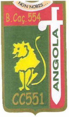 Companhia de Caçadores 551 do Batalhão de Caçadores 554 Angola