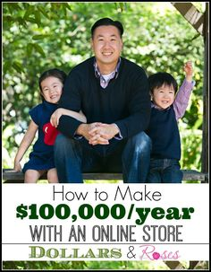 How to Make Over $100,000 Per Year With an Online Store Ways to make money, make extra money, make more money