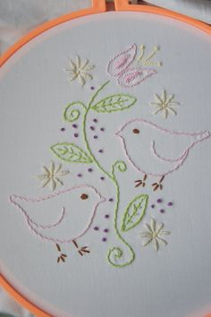 HOW TO HAND EMBROIDERY - EMBROIDERY DESIGNS