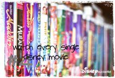 A Disney Bucket List