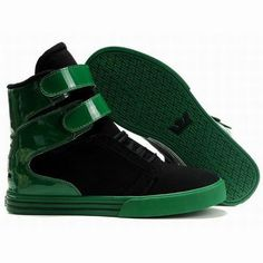 7ca65685de black green supra tk society shoes Supra Shoes, Nike Shoes, Men's Shoes, Hip