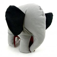 Red and Gray Elephant Medium Size