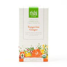 Rishi-Tea Tangerine Ginger - Large Box http://rishi-shop.co.kr :D