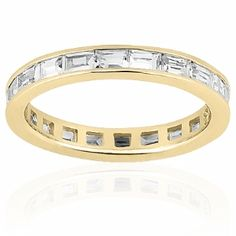 The Wedding Band Company is home to one of the largest selections of diamond eternity wedding bands on the web. In our unique design your own wedding ring format you can build the perfect ring to fit your style, taste or budget. Choose from our list of setting styles below (channel, prong, pave, bead, bezel or bar) from there find the style of ring you desire and finially build the ring to fit your perfect specifications.