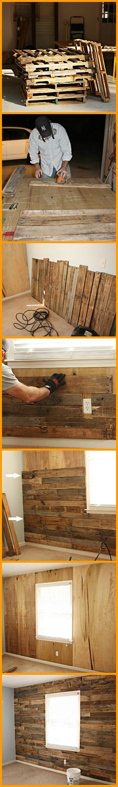 Yes! It's possible to make an accent wall without having to spend a lot. See for yourself in this project. http://theownerbuildernetwork.co/8ayf