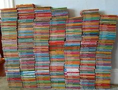 745 Lot Harlequin Presents Vintage Romance Novels Books 1970's 80's & 90's