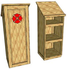 How to make a wooden podium work stations speakers and storage malvernweather Image collections
