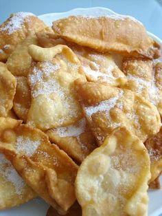 Orejones De Carnaval Receta Dulces Fritos Dulces Recetas De Cocina