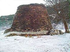 Dun Telve Glenelg Broch, remains of a 2000 year old castle, Scotland.