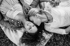 engagement shoot lesbian wedding: