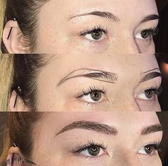 Do you often forget your eyebrows? You make a big mistake ! Eyebrows Shape Makes Beautiful Eyebrows Face . Mircoblading Eyebrows, Eyebrows Goals, Permanent Makeup Eyebrows, Eyebrow Makeup, Beauty Makeup, Hair Makeup, Hair Repair, Eyebrow Design, Eyebrow Tattoo